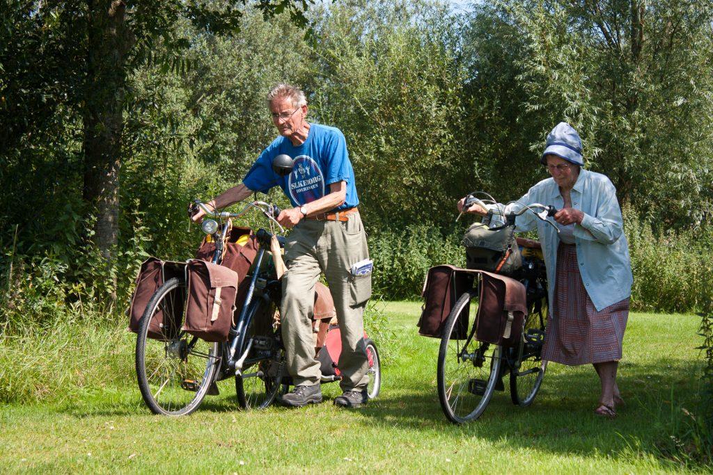 Gert en Diet op fietsvakantie