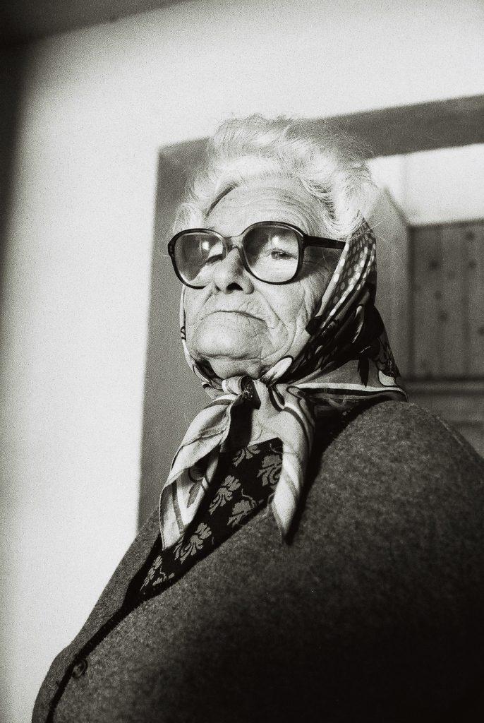 1998 Roemenië, vrouw in Ipotesti