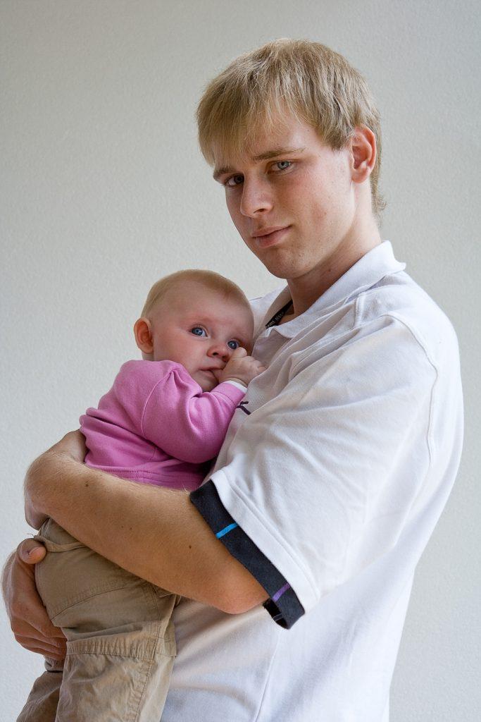 Tienervaders, Michael met dochter Lieke